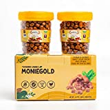 MONIEGOLD Chewy Tamarind Candy Weight 4.58 Ounce. made from fresh sweet & sour & spicy tamarind chewy (Pack of 2 )