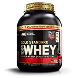 Optimum Nutrition Gold Standard Whey Muscle Building and Recovery Protein Powder with Glutamine and Amino Acids, Double Rich Chocolate, 74 Servings, 2.27 kg, Packaging May Vary