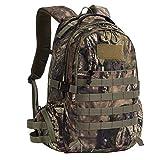 Hunting Backpack Outdoor Sports Daypacks Travel Bag Large Capacity Bow Durable Pack Camping Hiking Climbing Green