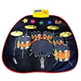 TOOGOO Neuheit Riesen E-Drum Set Floor Gamepad Baby Musik Lerndecke