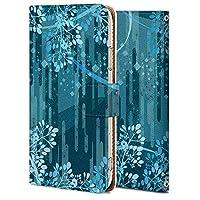 Galaxy S10 ケース 手帳型 ギャラクシー S10 SCV41 カバー スマホケース おしゃれ かわいい 耐衝撃 花柄 人気 純正 全機種対応 和風-花 フラワー シンプル 3698346