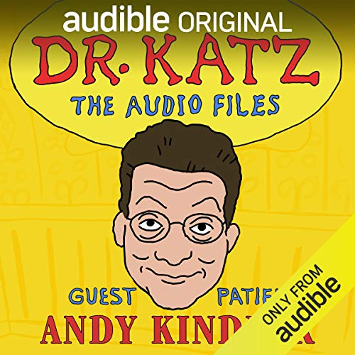 『Ep. 1: Andy Kindler (Dr. Katz: The Audio Files)』のカバーアート