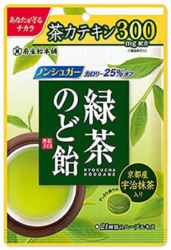 扇雀飴本舗 緑茶のど飴 100g ×4個