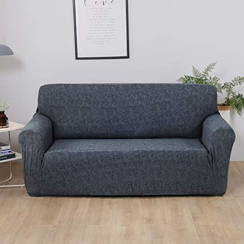 Funda de sofá elástica para Sala de Estar Funda de sofá de Licra para sofá de Esquina Funda de sillón A17 2 plazas