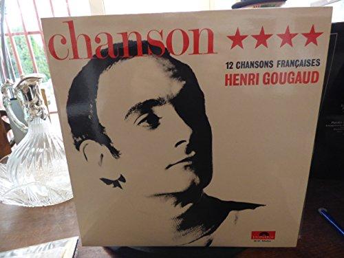 Henri Gougaud : 12 chansons françaises disque polydor 46161