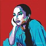 Vakseen Art - No Ordinary Love - Sade Portrait Art - Limited Edition Sade Stickers for Wall Decor, Laptops, Skateboards, etc.