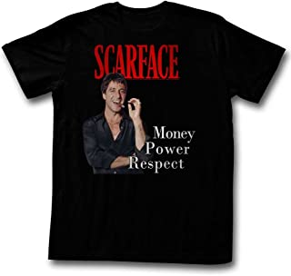 Scarface Shirt Money Power Respect T-Shirt