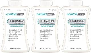 Comfort Zone Miconazorb Antifungal Powder Talc-Free (Pack of 3)