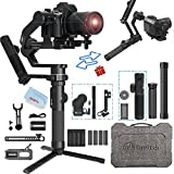 FeiyuTech AK4500 3-Axis Gimbal Stabilizer Payload 4.6 KG for Mirrorless & DSLR Sony A7M3 A7R3 α7 α9 FS5,Canon 5D 6D 80D 1DX Panasonic GH5 GH5S, Nikon D850/Z6/Z7, Bmpcc 4K, W/Brushless & Remote Control