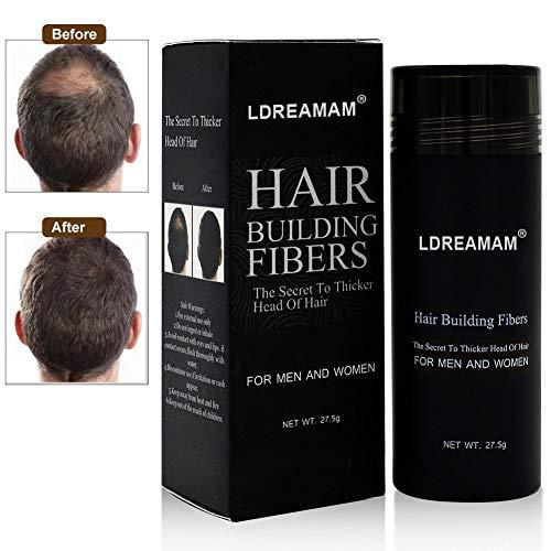 Hair Building Fibers,Hair Fibers,Hair Loss Concealer,Densificateur de cheveux,Cheveux fins et...