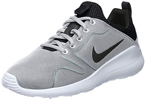 Nike Men's Kaishi 2.0 Wolf Grey/Black/White Running Shoe - 10.5 D(M) US