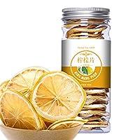中国のハーブティーフラワーフルーツティーローズティー缶詰ゴールデンシルクキクボトル入り新香茶ヘルスケアフラワーティーヘルシーグリーンフード (50g Lemon Slices)