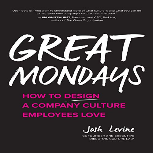 Great Mondays audiobook cover art