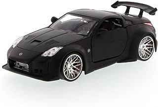Jada Nissan 350Z, Black Toys Bigtime Kustoms 92354 - 1/24 Scale Diecast Model Toy Car, but NO Box