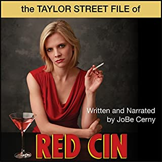 Taylor Street File of Red Cin audiobook cover art