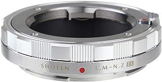 SHOTEN マウントアダプター LM-NZ EX (ライカMマウントレンズ → ニコンZマウント変換) (シルバー)