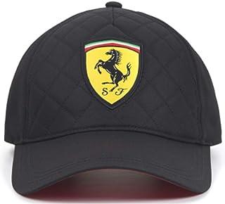 Ferrari Quilt Baseball Cap Black 2018 Scuderia