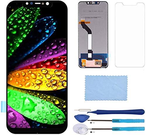 Pantalla LCD Táctil Asamblea Repuesto Compatible con Xiaomi Pocophone F1 / Poco F1 con Herramientas (Negro)