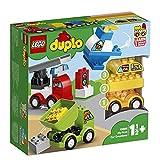 LEGO DuploMyFirst IMieiPrimiVeicoli, Set di Mattoncini da Costruzionecon 4 Veicoli, per Bambini di1,5 Anni, 10886