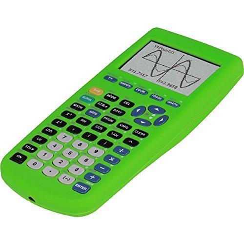 Guerrilla Silicone Case for Texas Instruments TI-83 Plus Graphing Calculator, Green Photo #6