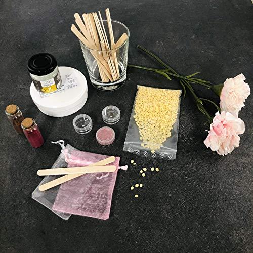 EventBoxx «Beauty Bash» – Cumpleaños rosa para niñas con kit de maquillaje DIY para 6 personas