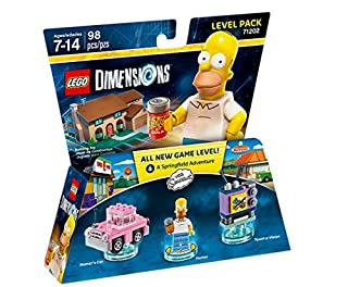 Figurine 'Lego Dimensions' - Homer Simpson - Les Simpson : Pack Aventure (B00ZWVGYD4)   Amazon price tracker / tracking, Amazon price history charts, Amazon price watches, Amazon price drop alerts