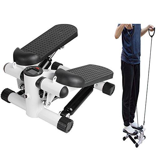 Review ixaer Elliptical Trainer Household Mini Multifunctional Stepper Exercise Machine Durable Equi...