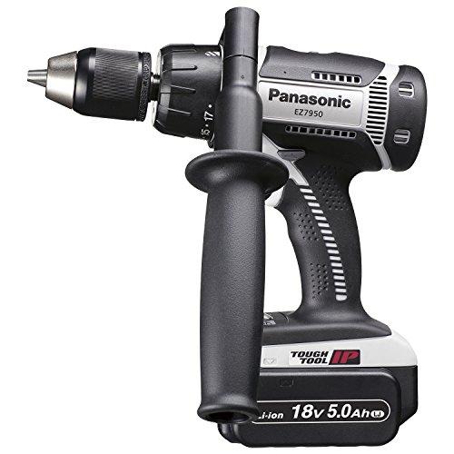 パナソニック(Panasonic) 充電振動ドリル&ドライバー 18V 5.0Ah EZ7950LJ2S-H