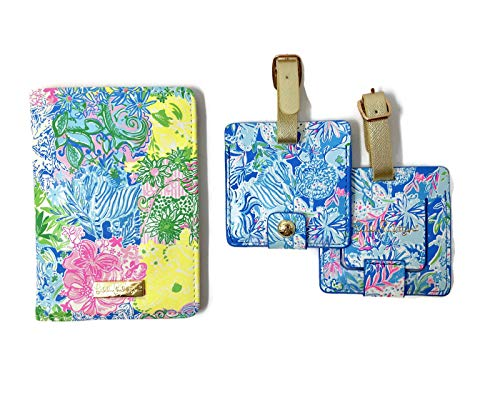 Lilly Pulitzer Travel Set Cheek To Cheek One Size