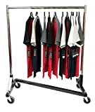 z rolling rack - Only Hangers GR600-41 Small Commercial Grade Rolling Z Rack with Nesting Black Base (41