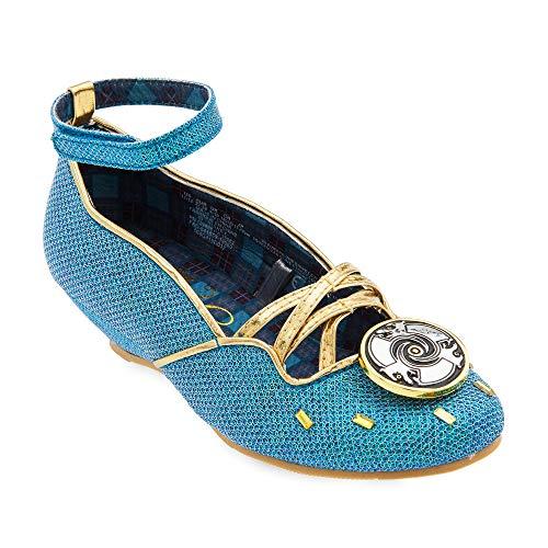 Disney Merida Costume Shoes for Kids Size 2/3 YTH Multi