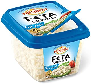 President All-Natural Crumbled Fat Free Feta Cheese, 6oz.