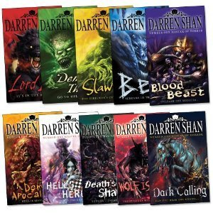 Darren Shan Demonata Collection Set Pack, 10 Books Set, (Bec, Blood Beast, Dark Calling, Death s Shadow, Demon Apocalypse, Demon Thief, Hell s Heroes, Lord Loss, Slawter, Wolf Island)