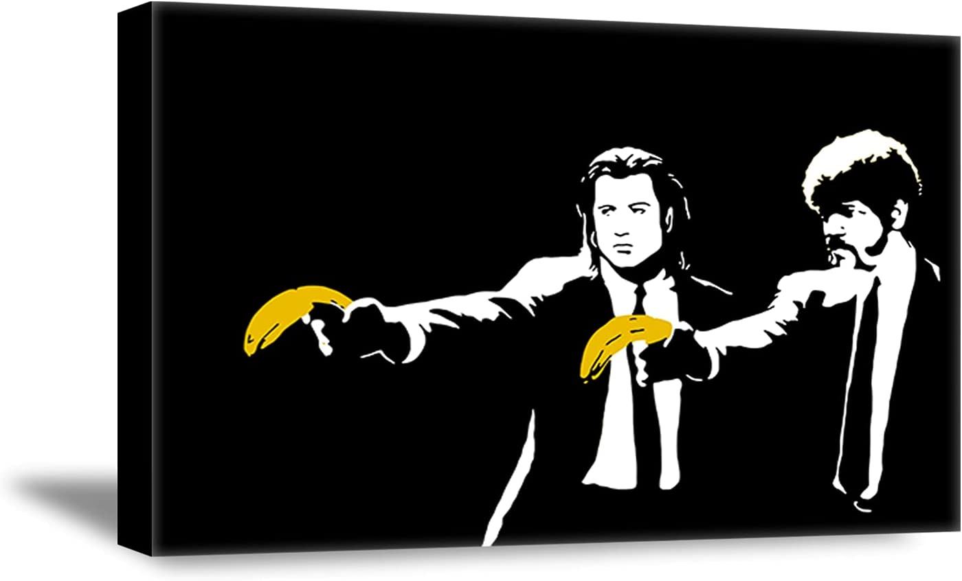 Banksy /'Pulp Fiction Banana/' Cufflinks