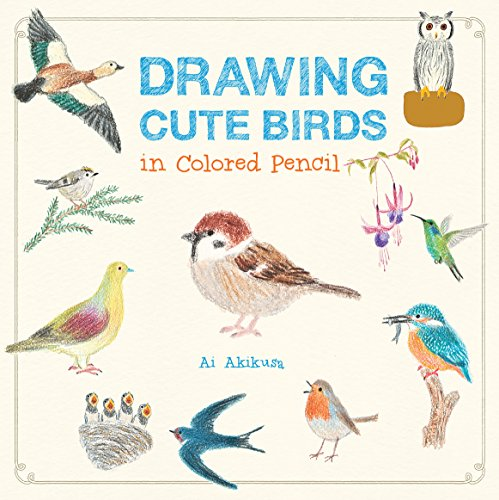 Drawing Cute Birds in Colored Pencil: 2