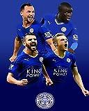 Nalana Poster Leicester City Football UH-218 Bar Living