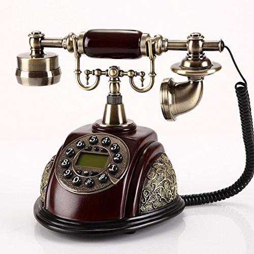 motes uvar Teléfono Antiguo, Europea estilo retro–Gabinete, Mode–creativos Teléfono, en casa,–Teléfono Fijo Fijo