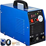VEVOR Plasma Cutting Machine 220V Air Plasma Cutter CUT-50F Plasma Cutting Station 12mm Cutting Efficient Cooling for Cutting Stainless Steel, Alloy Steel, Mild Steel, Copper Aluminum