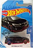 Hot Wheels 2018 Honda Civic Type R Exclusive by Tiny Toes