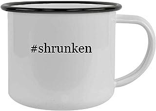 #shrunken - 12oz Hashtag Camping Mug Stainless Steel, Black