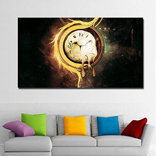 suhang Hd Druckt Abstrakte Kunst Leinwand Malerei Abstrakte Künstlerische Uhren Surrealismus Malerei Wandkunst Druckt Poster Für Wohnzimmer Dekor