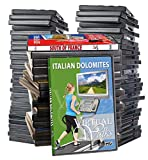 Virtuelle Spaziergänge DVD Supersale Kollektion - 44 DVD Dis Set für Inddor Walking Workouts -...