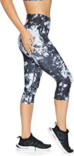 Rockwear Activewear Women's 3/4 Squad Print Tight from Size 4-18 for 3/4 Length High Bottoms Leggings + Yoga Pants+ Yoga T...