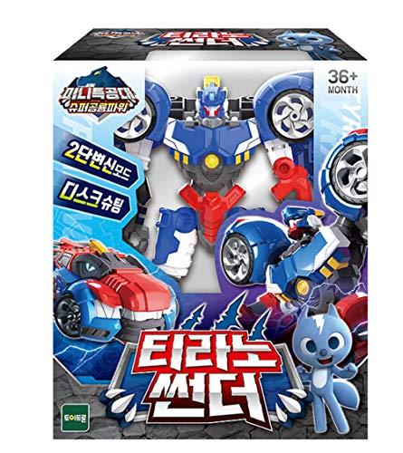 MINI FORCE Miniforce Tyranno Thunder Super Dinosaur Power Action Figure Toy