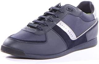 Hugo Boss Men's Maze Nylon Suede Mix Sneaker
