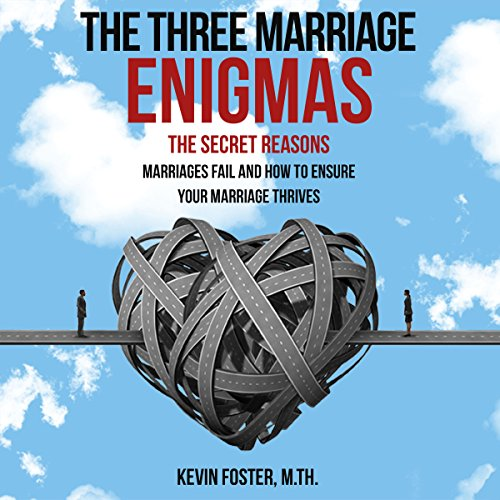 The Three Marriage Enigmas audiobook cover art