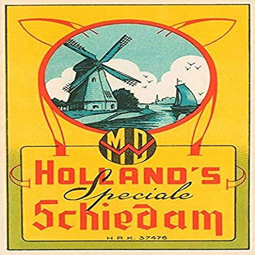 Buyenlarge 0-587-23929-8-G1827 Kunstdruck Holland's Speciale Schiedam Giclée, 45,7 x 68,6 cm