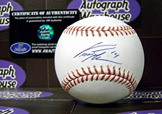 curtis granderson autographed baseball