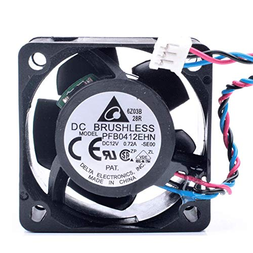N / A Cooling Fan PFB0412EHN-SE00,4cm 4028 Fan DC12V 0.72A,Server Cooler Fan