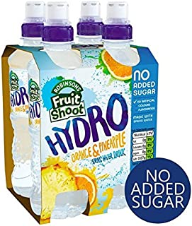 Robinsons Fruit Shoot Hydro Orange & Pineapple No Added Sugar - 4 x 350ml (47.34fl oz)